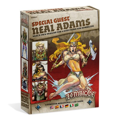 Zombicide Black Plague: SG Neal Adams – DE/EN