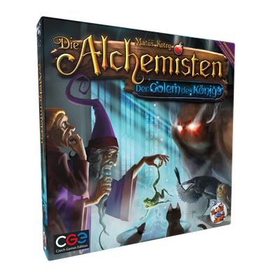 Die Alchemisten: Der Golem des Königs – DE