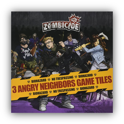 Zombicide: Angry Neighbors Game Tiles – DE/EN