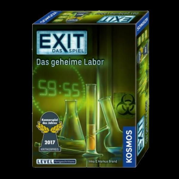 Exit das Spiel: das geheime Labor