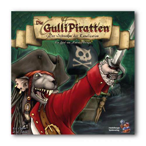 Die Gulli Piratten: Schrecken der Kanalisation – DE