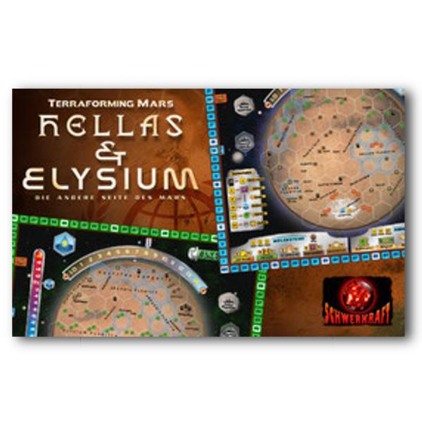 Terraforming Mars: Hellas & Elysium – DE