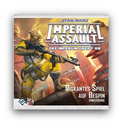 Star Wars Imperial Assault: Riskantes Spiel auf Bespin – DE