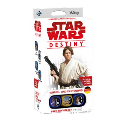 Star Wars Destiny:  Luke Skywalker Starter – DE