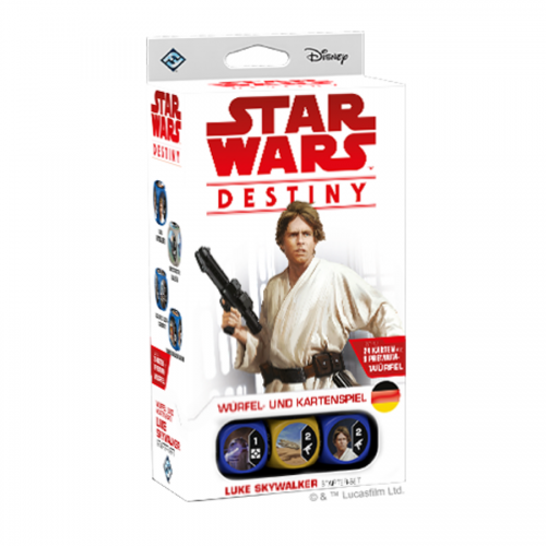 Star Wars Destiny:  Luke Skywalker Starter – DE