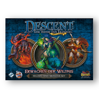 Descent 2. Edition: Monster – Erwachen der Wildnis – DE