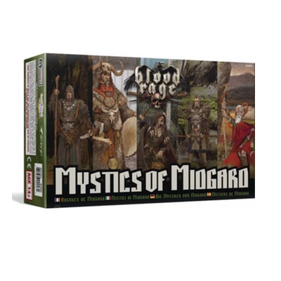 Blood Rage: Mystics of Midgard – DE/EN