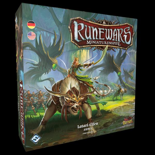 Runewars Miniaturenspiel: Latari-Elfen Armee Erweiterung