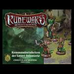 Runewars Miniaturenspiel: Kommandoeinheiten der Latari-Infanterie