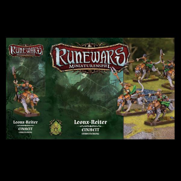 Runewars Miniaturenspiel: Latari – Leonx-Reiter