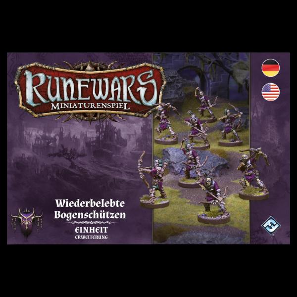 Runewars Miniaturenspiel: Waiquar – Wiederbelebte Bogenschützen