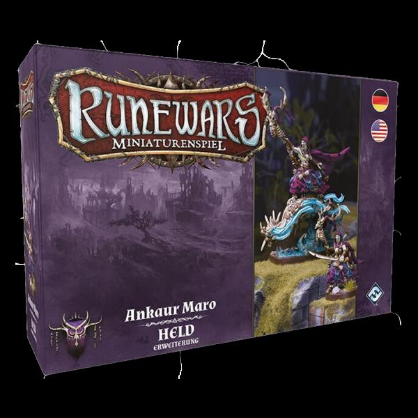 "Runewars Miniaturenspiel: Waiqar – Ankaur Maro ""Held"""