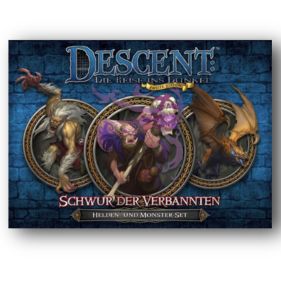Descent 2. Edition: Monster – Schwur der Verbannten – DE