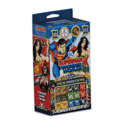 Dice Masters: Superman and Wonderwoman Starter – EN