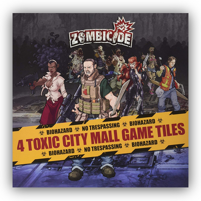 "Zombicide: Toxic City Mall ""Tiles expansion"" DE/EN"