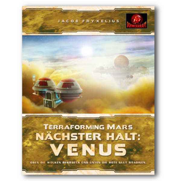 Terraforming Mars: nächster Halt VENUS – DE