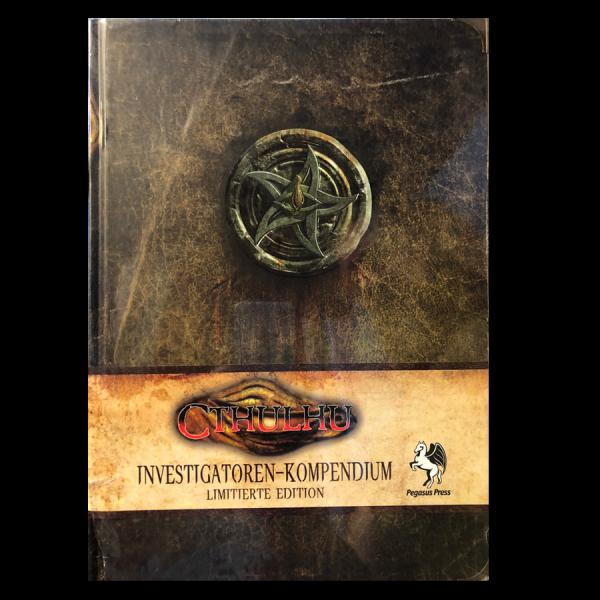 Cthulhu: Investigatoren-Kompendium *limitierte Edition* (HC) – DE