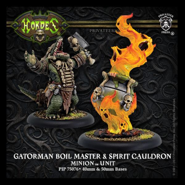 Hordes: Minions – Boil Master & Spirit Cauldron
