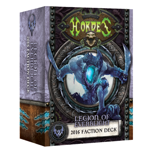 Hordes: Everblights Legion – 2016 Faction Deck – EN