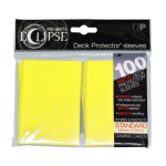 Ultra Pro: Sleeves – Standard Eclipse pro matte (66×91) – Lemmon Yellow 100 Stk