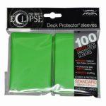 Ultra Pro: Sleeves – Standard Eclipse pro matte (66×91) – Lime Green 100 Stk