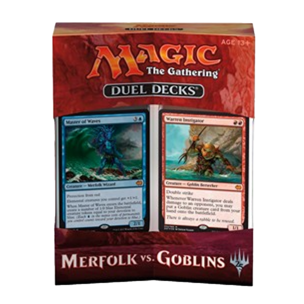 MTG – Duel Decks: Merfolk vs. Goblins – EN