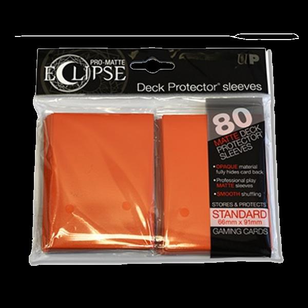Sleeves Ultra Pro: Eclipse Standard 66×91 Pro Matte – orange (80)