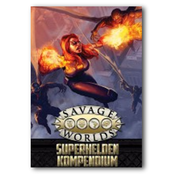 Savage World: Superhelden-Kompendium (SC) – DE