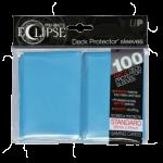 Ultra Pro: Sleeves – Standard Eclipse pro matte (66×91) – sky blue 100 Stk