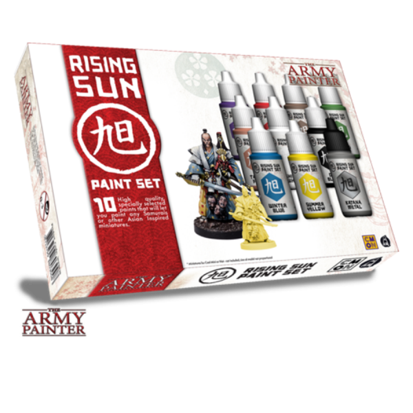 Rising Sun paint set