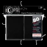 Ultra Pro: Sleeves – Standard Eclipse pro matte (66×91) – black 80 Stk