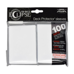 Ultra Pro: Sleeves – Standard Eclipse pro matte (66×91) – arctic white 100 Stk