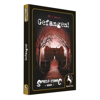 Spiele-Comic Noir: Gefangen! (HC) – DE