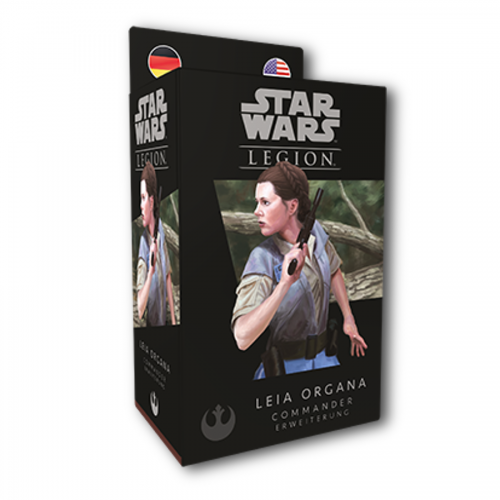 "Star Wars Legion: Leia Organa ""Commander"" – DE / EN"