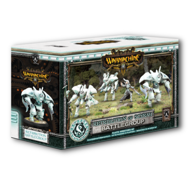 Warmachine: Retribution of Scyrah – Battlegroup Starter Box (plastic)