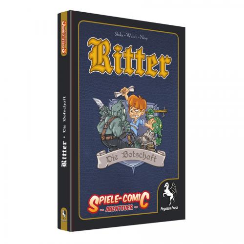 Spiele-Comic Abenteuer: Ritter #2 – Die Botschaft (HC) – DE