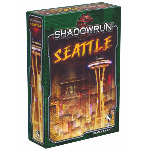 Shadowrun 5: Seattle – Stadt der Schatten (Box) – DE
