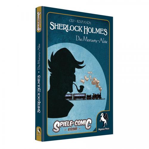 Spiele-Comic Krimi: Sherlock Holmes #2 – Die Moriarty-Akte (HC) – DE