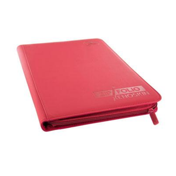 Ultimate Guard: 9-Pocket Zipfolio Xenoskin – Rot