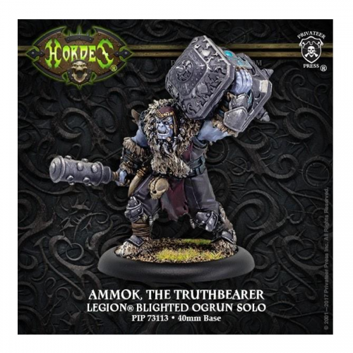 Hordes: Legion of Everblight – Ammok the Truthbearer *Ogrun Solo*