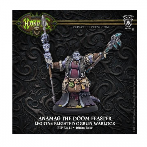 Hordes: Legion of Everblight – Anamag the Doom Feaster *Warlock*