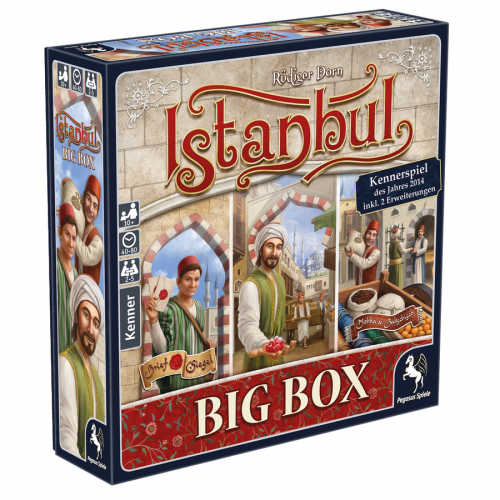 Istanbul: Big Box – DE / EN