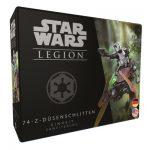 Star Wars Legion: 74-Z-Düsenschlitten – DE/EN