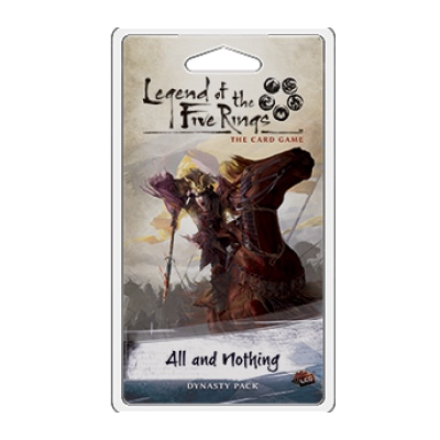 Legend of the five Rings: Elemental 5 – All and Nothing – EN