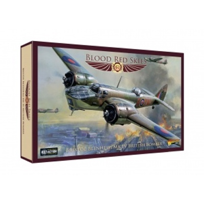 Blood Red Skies: British – Bristol Blenheim Mk IV Bomber – EN