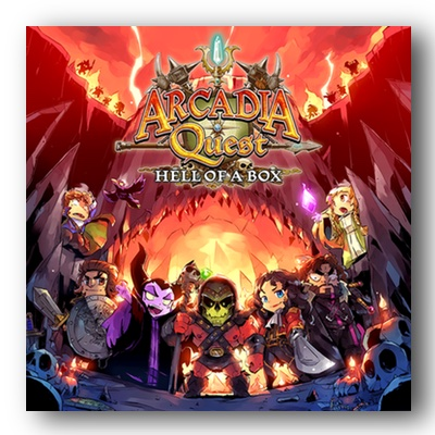 Arcadia Quest: Inferno Hell of a Box – EN (Kickstarter Exclusive)