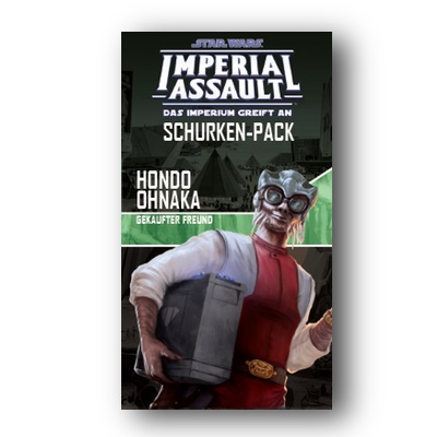 Star Wars Imperial Assault: Hondo Ohnaka – DE