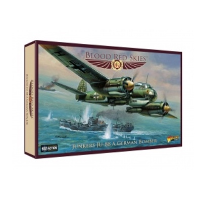 Blood Red Skies: German – Junkers JU-88 A Bomber – EN