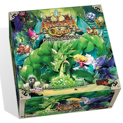 Arcadia Quest: Poison Dragon – EN (Kickstarter Exclusive)