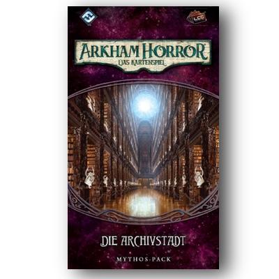 Arkham Horror LCG: das vergessene Zeitalter 4 – Die Archivstadt – DE
